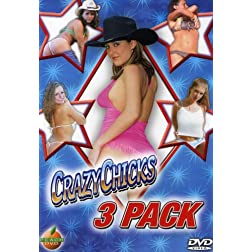 Crazy Chicks 3-Pack