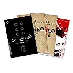 Criterion Collection Director Series - Akira Kurosawa (Throne Of Blood / Yojimbo / Seven Samurai / Sanjuro) - Amazon.com Exclusive