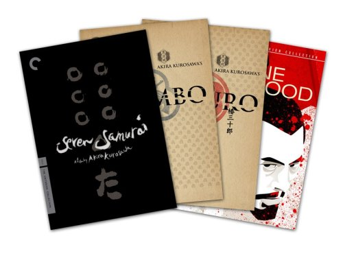 Criterion Collection Director Series - Akira Kurosawa (Throne Of Blood / Yojimbo / Seven Samurai / Sanjuro) - Amazon.com Exclusive