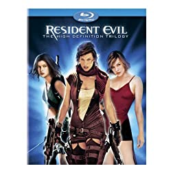Resident Evil - The High-Definition Trilogy (Resident Evil/ Resident Evil: Apocalypse/ Resident Evil: Extinction) [Blu-ray]