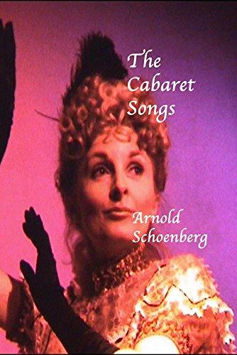 CABARET SONGS - SCHOENBERG DVD
