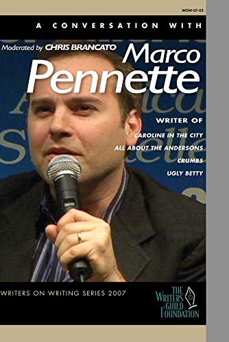 Marco Pennette - Writers on Writing