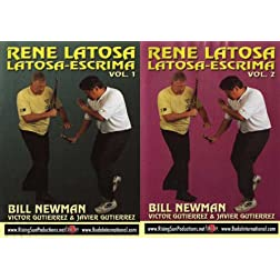 Escrima Rene Latosa 2 DVD Box Set