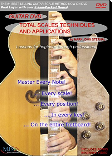 GUITAR DVD Total Scales Techniques and Applications