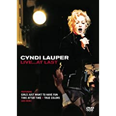 Cyndi Lauper - Live...At Last
