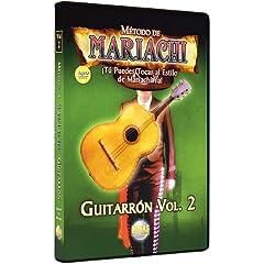 Metodo De Mariachi Guitarron 2: Spanish Only