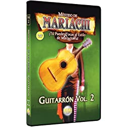 Metodo De Mariachi Guitarron 2: Spanish Only