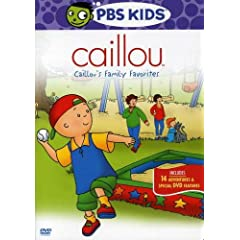 Caillou - Caillou's Family Favorites