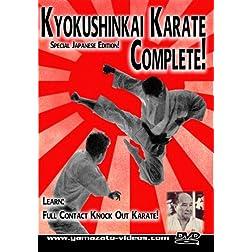 Kyokyushinkai Karate Complete!