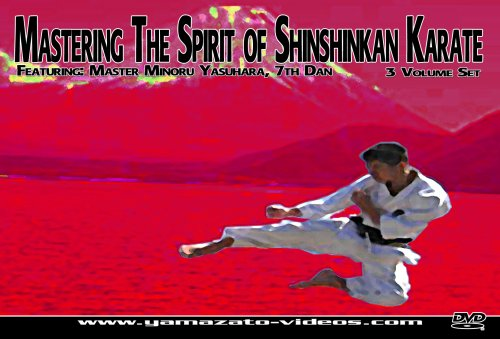 Mastering The Spirit of Shinshinkan Karate 3 Volume Set