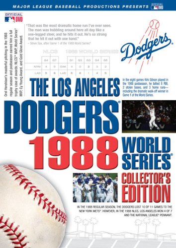 Los Angeles Dodgers 1988 World Series Collector's Edition
