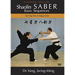 Shaolin Saber Basic Sequences (YMAA Kung Fu Weapons) DVD