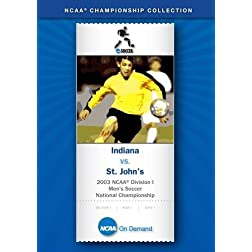 2003 NCAA Division I Men's Soccer National Championship - Indiana vs. St. John's