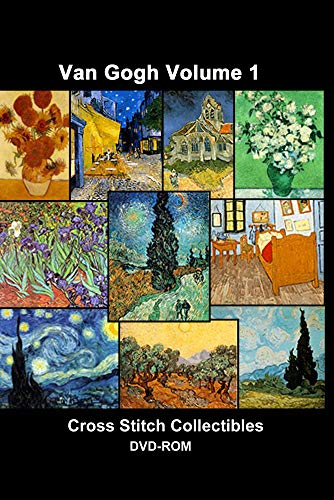 Van Gogh Cross Stitch Vol. 1