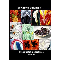 O'Keeffe Cross Stitch Vol. 1