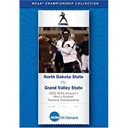 2003 NCAA Division II Men's Football Championship - North Dakota State vs. Grand Valley State disc 2
