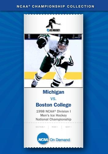 1998 NCAA Division I Men's Ice Hockey National Championship - Michigan vs. Boston College