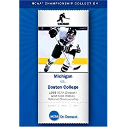 1998 NCAA Division I Men's Ice Hockey National Championship - Michigan vs. Boston College, disc 2