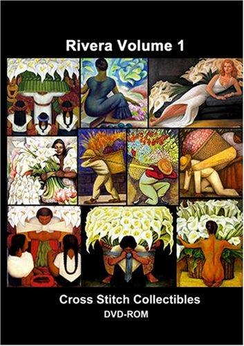Diego Rivera Cross Stitch Vol. 1