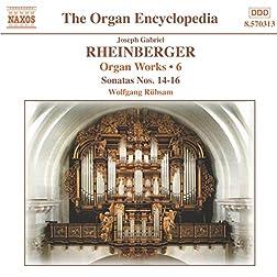 Rheinberger: Organ Works, Vol. 6 (Sonatas Nos. 14-16)