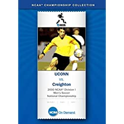 2000 NCAA Division I Men's Soccer National Championship - UCONN vs. Creighton