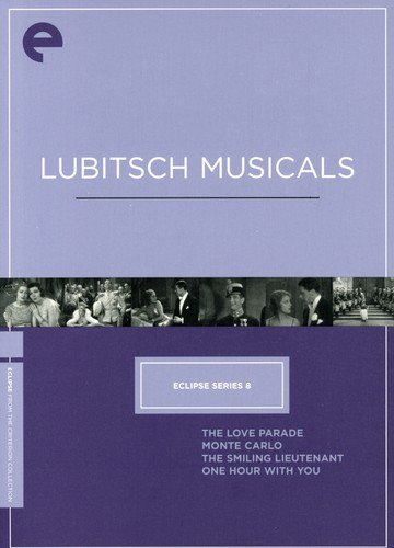 Eclipse Series 8 - Lubitsch Musicals (The Love Parade / The Smiling Lieutenant / One Hour with You / Monte Carlo) (Criterion Collection)