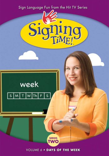 Signing Time! Season 2 Volume 6: Days of the Week 6