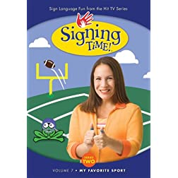 Signing Time! Season 2 Volume 7: My Favorite Sports