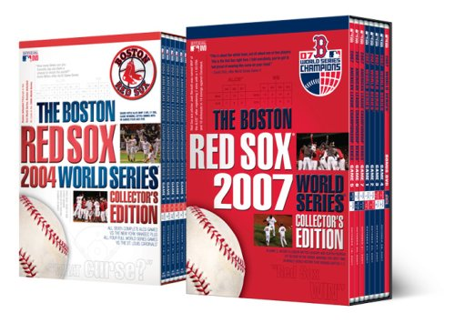 The Boston Red Sox 2004 & 2007 World Series Collector's Editions