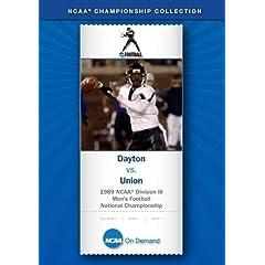 1989 NCAA Division III Men's Football National Championship - Dayton vs. Union