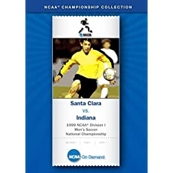 1999 NCAA Division I Men's Soccer National Championship - Santa Clara vs. Indiana