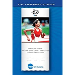 2000 NCAA Division I Men's and Women's Outdoor Track and Field National Championship