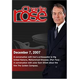 Charlie Rose (December 7, 2007)