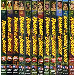 Ramar of the Jungle, Vol. 1-12