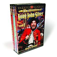 The Adventures of Long John Silver, Vol. 1-3