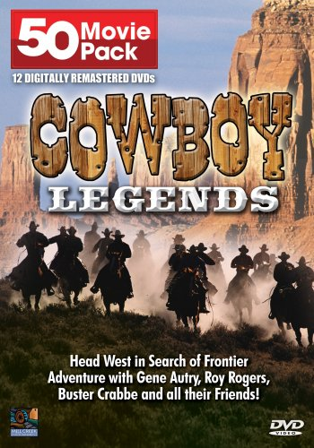 Cowboy Legends 50 Movie Pack