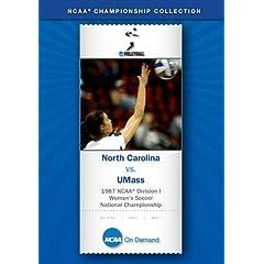 1987 NCAA Division I Women's Soccer National Championship - North Carolina vs. UMass