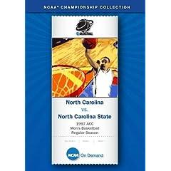 1997 ACC Men's Basketball Regular Season - North Carolina vs. North Carolina State