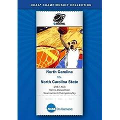 1987 ACC Men's Basketball Tournament Championship - North Carolina vs. North Carolina State