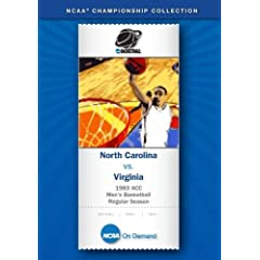 1983 ACC Men's Basketball Regular Season - North Carolina vs. Virginia