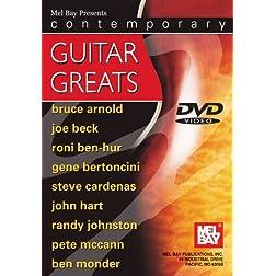 Contemporary Guitar Greats