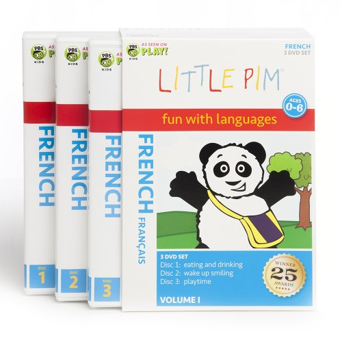 Little Pim: 3-Disc Gift Set (French)