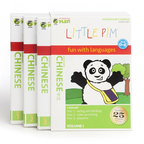 Little Pim: 3-Disc Gift Set (Mandarin Chinese)