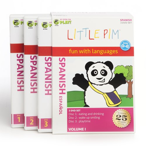 Little Pim: 3-Disc Gift Set (Spanish)