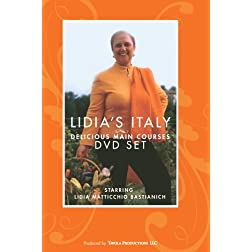 Lidia's Italy: Delicious Main Courses (4-Disc Set)