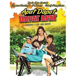 Apat Dapat, Dapat Apat - Philippines Filipino Tagalog DVD Movie