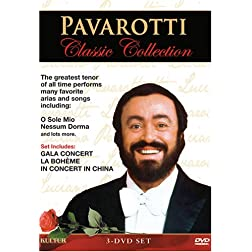 Pavarotti Classic Collection / La Bohme (Genoa Opera Company) / Gala Concert / In Concert In China