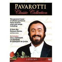 Pavarotti Classic Collection / La Boh�me (Genoa Opera Company) / Gala Concert / In Concert In China