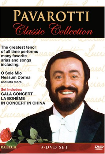 Pavarotti Classic Collection / La Bohème (Genoa Opera Company) / Gala Concert / In Concert In China