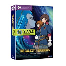 Galaxy Railways Box Set - Viridian Collection